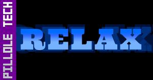 Pillole Tech 1 Relax