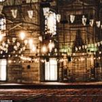 Istanbul interno moschea